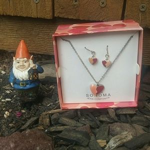 Sonoma Necklace with matching earrings